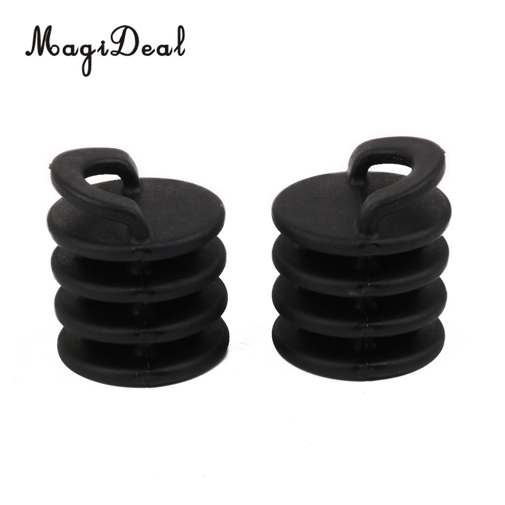 Set of 2 Nylon Kayak Boat Canoe Scuppers Stoppers Drain Holes Plugs Bungs S L
