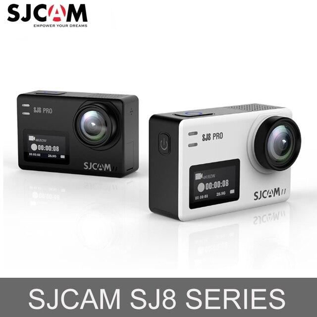 Original SJCAM SJ8 serie SJ8 Plus 4K 60FPS WiFi Remote Cámara de Acción Chipset Ambarella Ultra HD extrema ir deportes Pro cámara DV