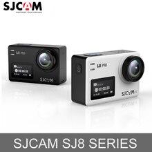 Original sjcam sj8 série sj8 plus 4 k 60fps wifi câmera de ação remota ambarella chipset ultra hd extrema ir esportes pro dv câmera