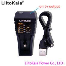 liitokala lii-100B 266501865016340 RC123 egyvéges intelligens töltő, LiFePO4, 12V Ni MH Ni Cd töltés, nincs 5V kimenet