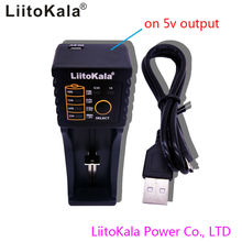 liitokala lii-100B 266501865016340 RC123 enkele slot intelligente lader, LiFePO4, 12V Ni MH Ni Cd opladen, geen 5V-uitgang