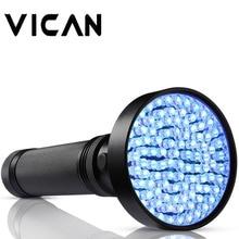 VICAN 18W 100 LED UV 395nm Flashlight with lanyard Operation