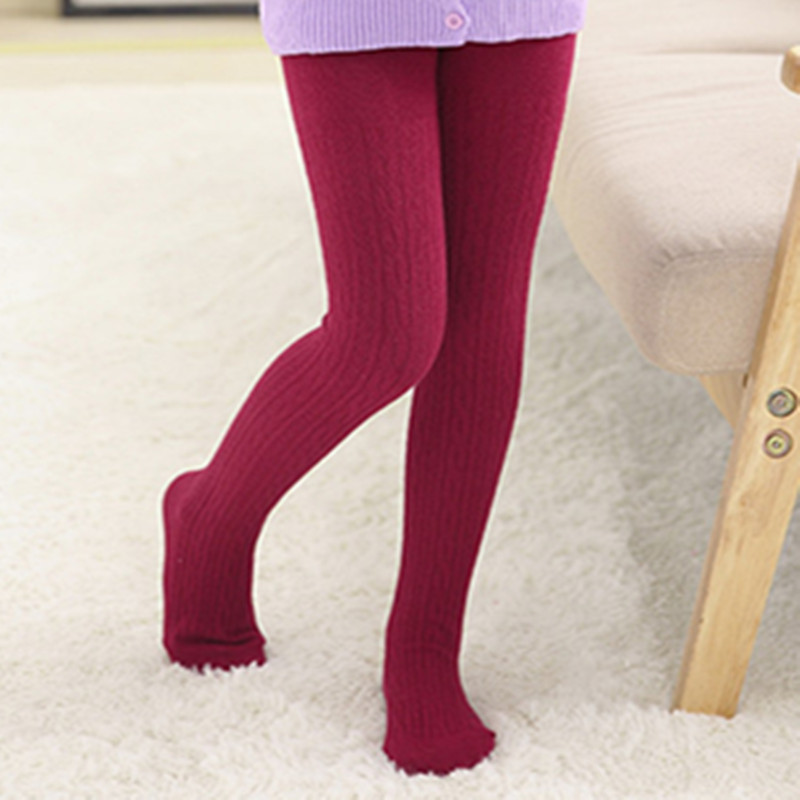 WINTER Girls Tights Cartoon Baby Girl Pantyhose Fashion