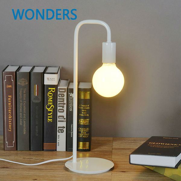 Moedern  Simple Fashion Iron Metal Paint  Desk Lamps Bedroom Bedside Reading Table Lamp Night Lighting Children Learning Light headband headset led head light magnifier magnifying glass loupe 5 lens set page 1
