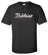 Bibleist T-Shirt christian bible golf believer jesus christ lord faith in god  Free shipping Tops Fashion Classic Unique gift