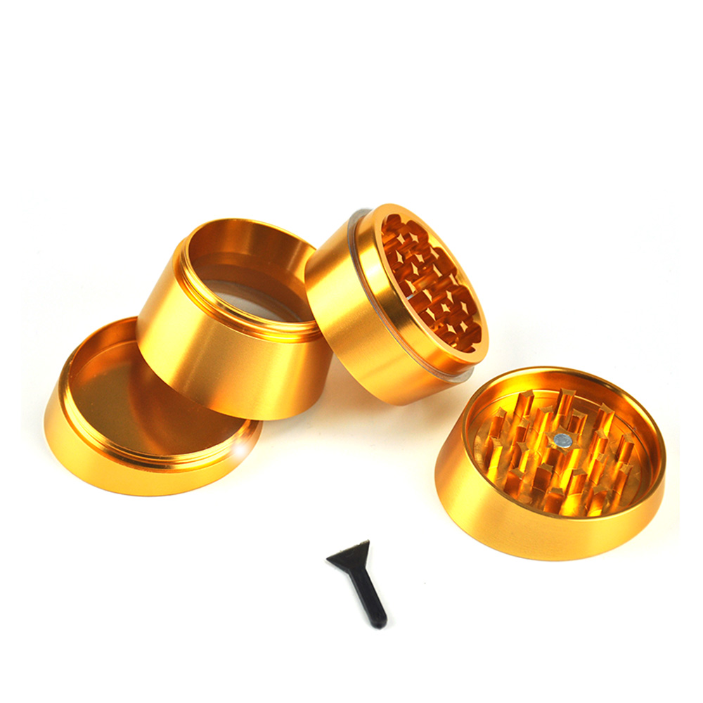 JIJU High Quality Metal Tobacco Grinder Creative Hand Spinner Grinder - Household Merchandises - Photo 3