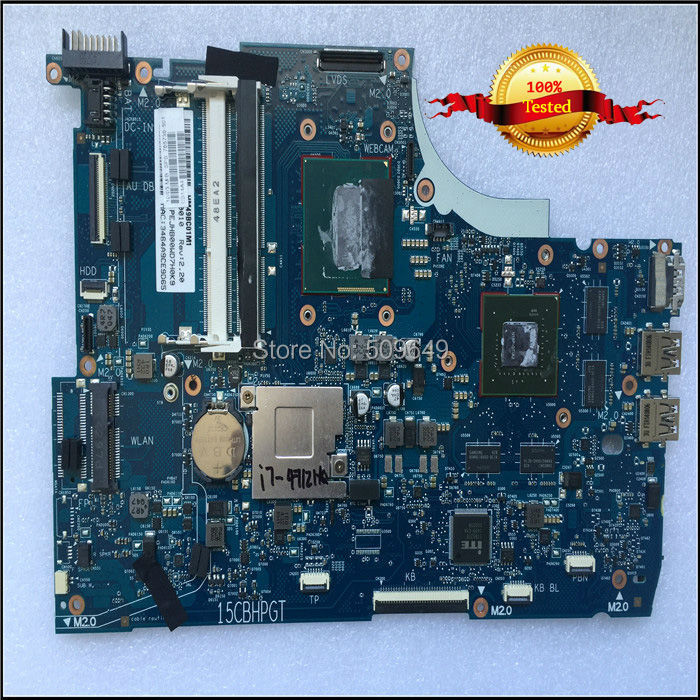 Top quality , For HP laptop mainboard ENVY15-Q 765736-501 laptop motherboard,100% Tested 60 days warranty 782279 001 for hp laptop mainboard envy15 j 782279 501 laptop motherboard 100% tested 60 days warranty
