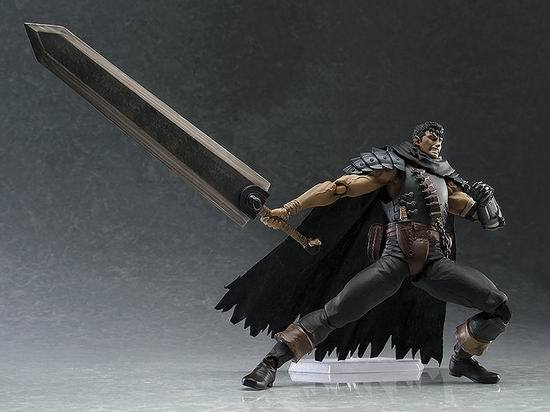Game Figma 359 GUTS Black Swordsman Ver. Repaint Edition PVC Figures Model Toys 3