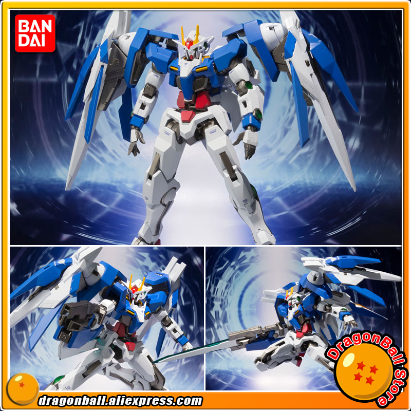 Anime Mobile Suit Gundam 00 Original BANDAI Tamashii Nations METAL Robot Spirits Action Figure - 00 Raiser + GN Sword III original bandai tamashii nations robot spirits exclusive action figure rick dom char s custom model ver a n i m e gundam