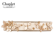 Chaplet 2016 New Elegant High Quality Flower Hair Clips Rhinestone Hair Jewelry Girls Hair Accessories Barrettes