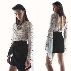 Blusas mujer de moda 2018 mode wilde off wit chiffon blouses sexy top vrouwelijke chemise femme mooie boho vrouwen shirt