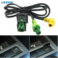 Free Shipping For VW Golf 5 6 Scirocco Passat Jetta Mk6 USB Input USB Connector Surface