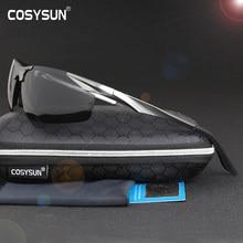 2019 New Aluminum Magnesium Polarized Sunglasses Mens Driving Sunglasses male sun glasses Men Sport Sunglasses with Case 0206