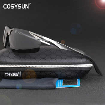 2019 New Aluminum Magnesium Polarized Sunglasses Men's Driving Sunglasses male sun glasses Men Sport Sunglasses with Case 0206 - DISCOUNT ITEM  0% OFF All Category