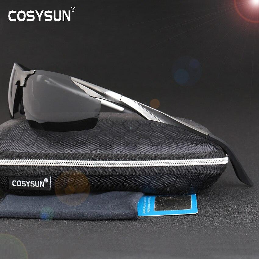 2019 nouveau aluminium magnésium polarisé lunettes de soleil hommes conduite lunettes de soleil hommes Sport lunettes de soleil avec étui 0206