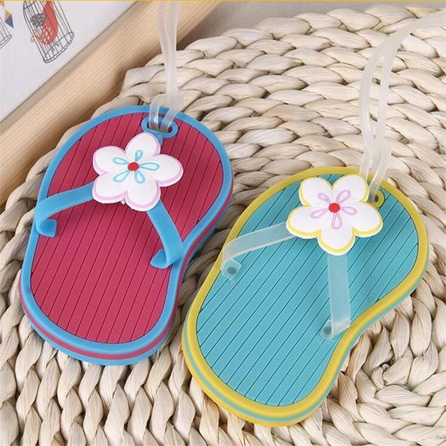 30pcswedding favor slipper luggage tag beach theme gifts bridal shower favors guest souvenirs party