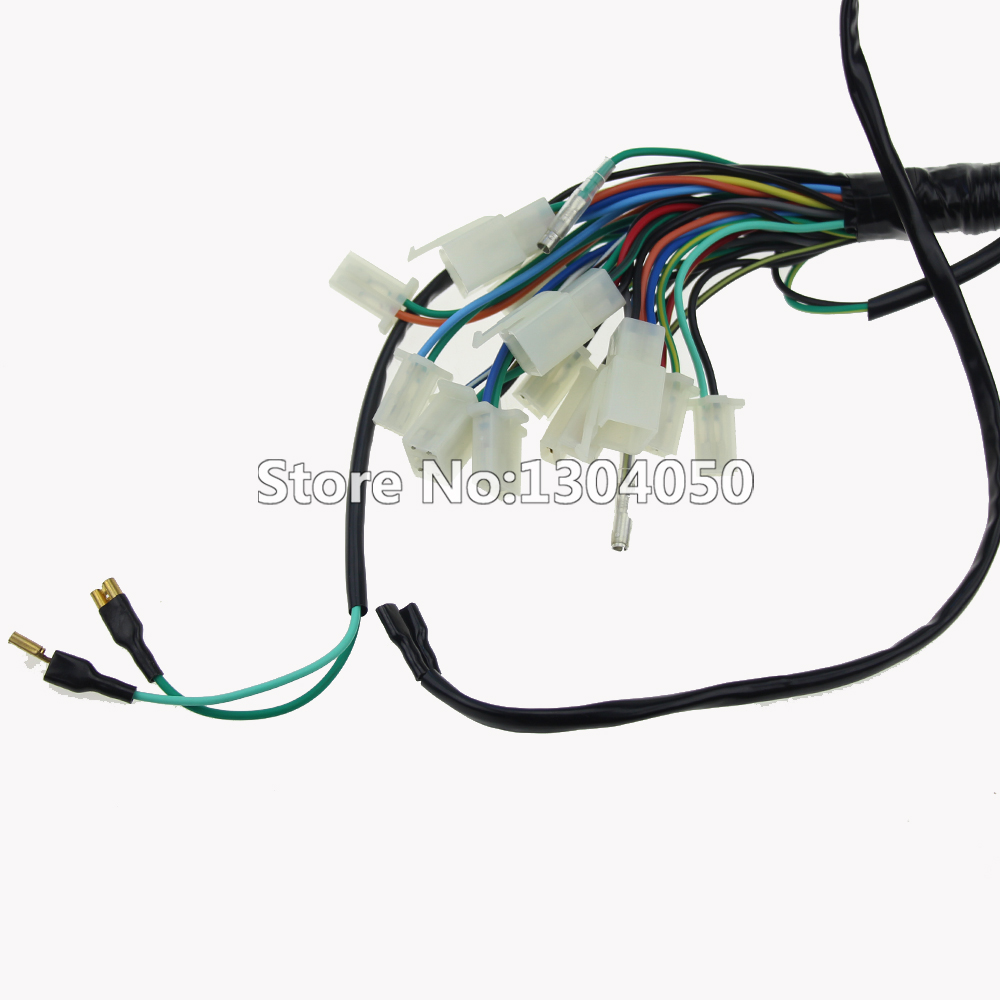 medium resolution of quad wiring harness 70cc 110cc chinese electric start 50cc 90cc loom 125cc atv pit bike go kart in motorbike ingition from automobiles motorcycles on