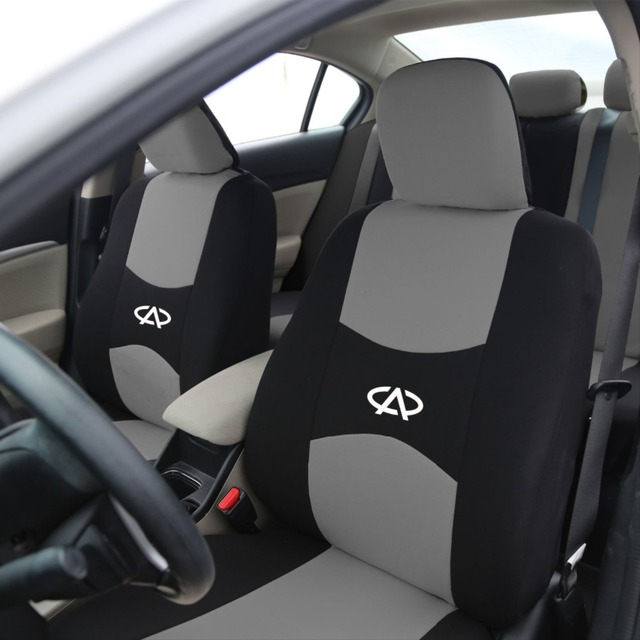 2 assentos dianteiros Material QUENTE Universal tampa de assento do carro para Chery Ai Ruize Tiggo A3 QQ A5 E3 X1 carro almofadas carro acessórios