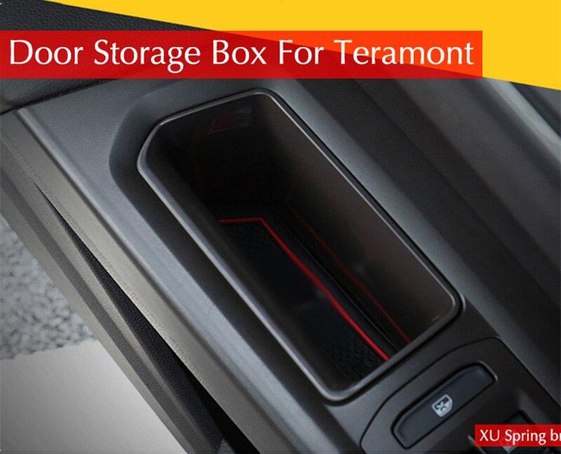Für Volkswagen VW Atlas Teramont 2017 2018 Auto Refit Tür Lagerung Box Handlauf Box Zubehör Auto Styling