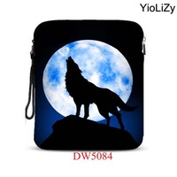 Wolf Print 9 7 Inch Smart Tablet Bag Notebook Protective Sleeve Drop Resistance Laptop Case For