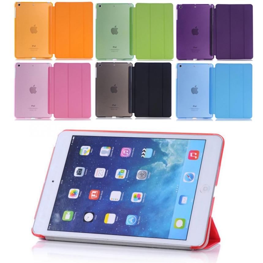 Capa de tablet ultrafina para ipad, mini 4, capa dobrável magnética, de pvc, a1538, a1550 mini capa inteligente 4 flip