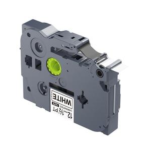Image 2 - 5PCS 12mm Black on White TZe 231 TZ2 231 Label Tapes Compatible for Brother p touch PT200 1000 D210 H110 E110 Label Printer PUTY