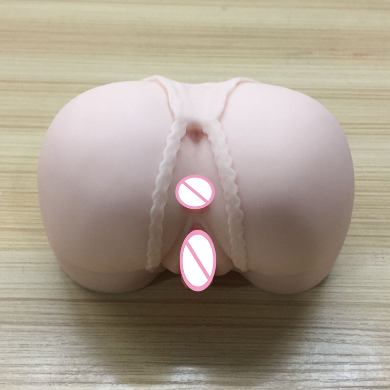Soft <font><b>Silicone</b></font> <font><b>Male</b></font> <font><b>Masturbator</b></font> 3D Artificial <font><b>Vagina</b></font> Ass Realistic Pocket Pussy Double Channel <font><b>Sex</b></font> <font><b>Doll</b></font> Adult <font><b>Sex</b></font> <font><b>Toys</b></font> for Men