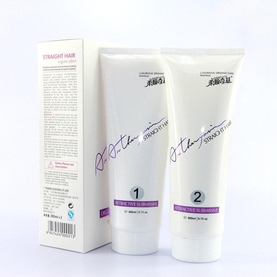 Schönheit & Gesundheit 2 Haar Stil Styling Gerade Pflege Relaxers Erweichen Haar-befestigung Creme änderung Locken Farbe Färbung Werkzeug 2 Teile/schachtel 8,78 Unze