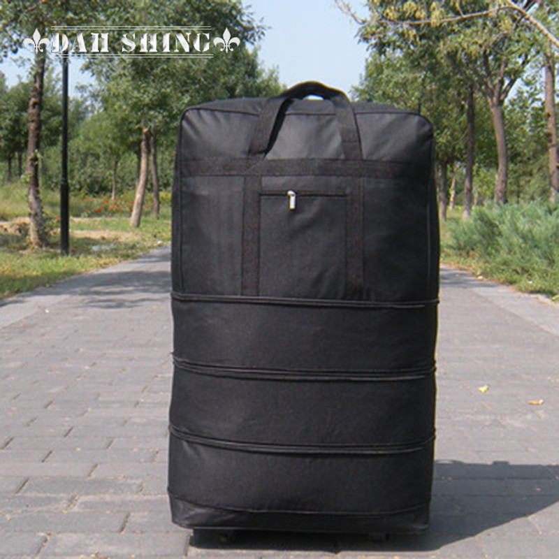 Large capacity portable oxford fabric travel luggage bag Large moving bags checked bag universal wheels high quality brand polo genuine golf clothing bag of men s shoes bags large capacity oxford fabric 2016 new travel apparel bags