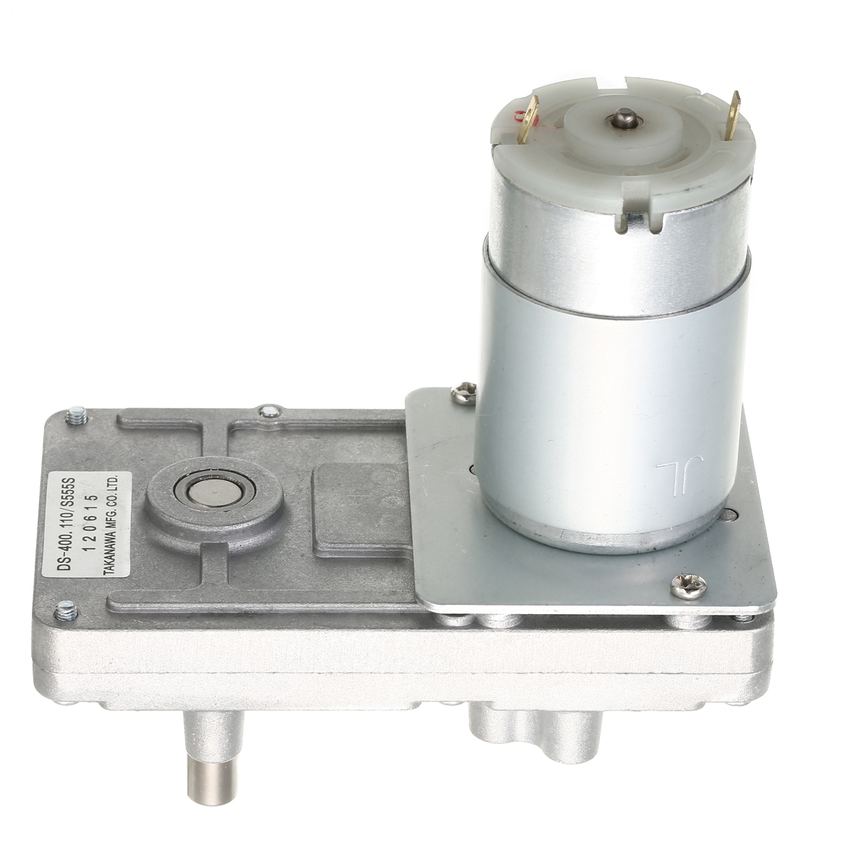 DC Motor <font><b>RS</b></font>-<font><b>555</b></font> Takanawa <font><b>555</b></font> Gear Motor Metal 12V-24V DC Reduction Gear Motor High Torque Low Noise for Electric curtains ovens image