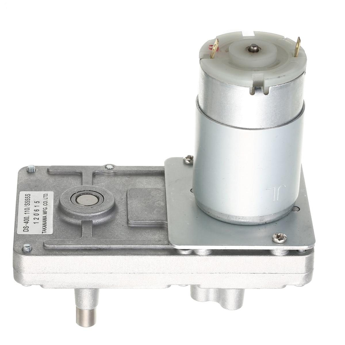 DC Motor RS-555 Takanawa 555 Getriebe Motor Metall 12V-24V DC Reduktion Getriebe Motor Hohe Drehmoment Niedrigen lärm für Elektrische vorhänge öfen