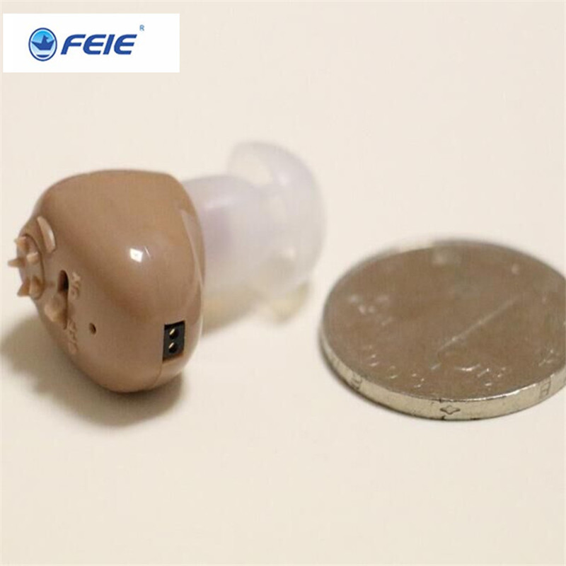 The Best Cheap Hearing Aid USB Mini Rechargeable in Ear S-102 Portable Sound Amplifier For Deaf Hearing Loss Free Shipping free shipping hearing aids aid behind the ear sound amplifier with cheap china price s 268