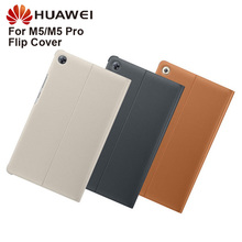 Huawei Original Smart View Cover Leather Case For Huawei M5 8.4 M5 Pro M5 10.8 Flip Case Housing Sleeps Function Case new original laptop palm rest for acer for aspire m5 581 m5 581g m5 581t m5 581tg palmrest upper case cover am0o2000d10 touchpad