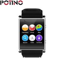 POTINO X11 smart watch High Chip 4GB ROM 2.0M camera support 3G HD Voice call speaker WIFI GPS Bluetooth Remind Health Tracker