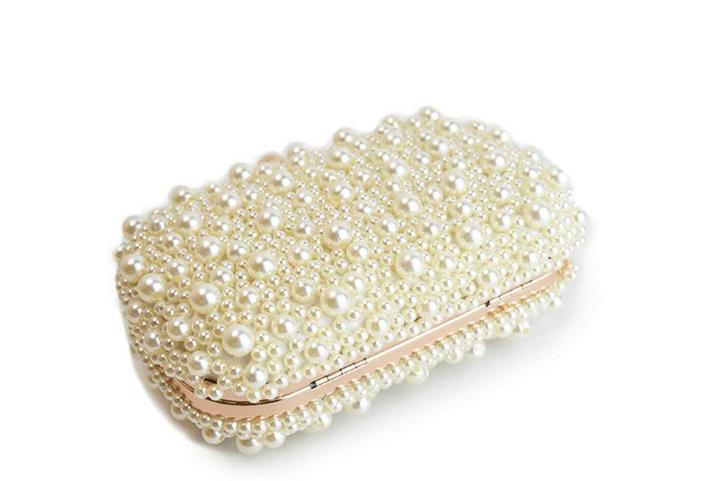 bef670fa655 Rdywbu Best New Noble Female Pearl Clutch Bags Purse 2018 Fashion ...