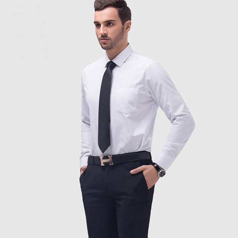 2019 Heißer Verkauf Weiß Schwarz Blau Männer Hemd Bräutigam Smoking Best Man Trauzeugen Männer Hochzeit Shirts Formale Anlass Männer Shirts