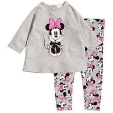 2017 Brand Clothes Sets Newborn girls Boys Autumn Children Clothing Sets Kids 2pcs clothing set suit baby shirt+pants sets