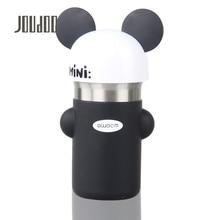 JOUDOO 340ml Cute Cartoon Beer Children Water Bottle Leakproof Stainless Steel Bottles Portable Mini Drinkware for Kids 35