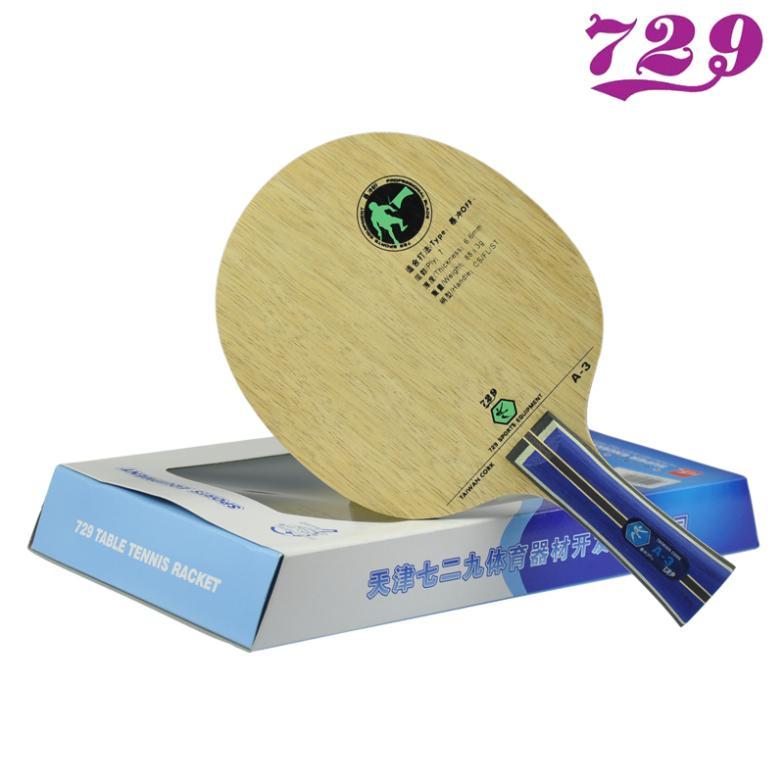 e23d9a8419 ⑥Amistad 729 A3 Tenis de Mesa A-3 raqueta Plate Ping Pong Bat - a683