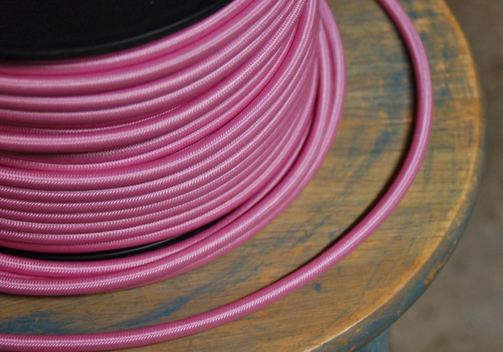 50 м/лот 2x0. 75mm2 EDISON ЛАМПЫ Провода текстиль Цвет Плетеный Провода Ткань Мощность шнур Провода кабель - 4