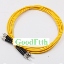 Faser Patchkabel Jumper FC/UPC ST/UPC FC ST UPC SM Duplex GoodFtth 1 15m
