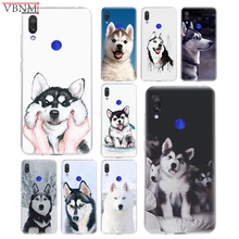Cute Husky Smile Popular Soft Silicon TPU Case For Xiaomi Redmi Note 4 5 6 7 7Pro For Redme S2 GO Customized Best seller Cover