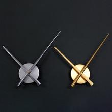 DIY большой 3D настенные часы кварцевые Стрелка для часов краткое diy гостиная большие наклейки декоративные horloge murale металлический циферблат