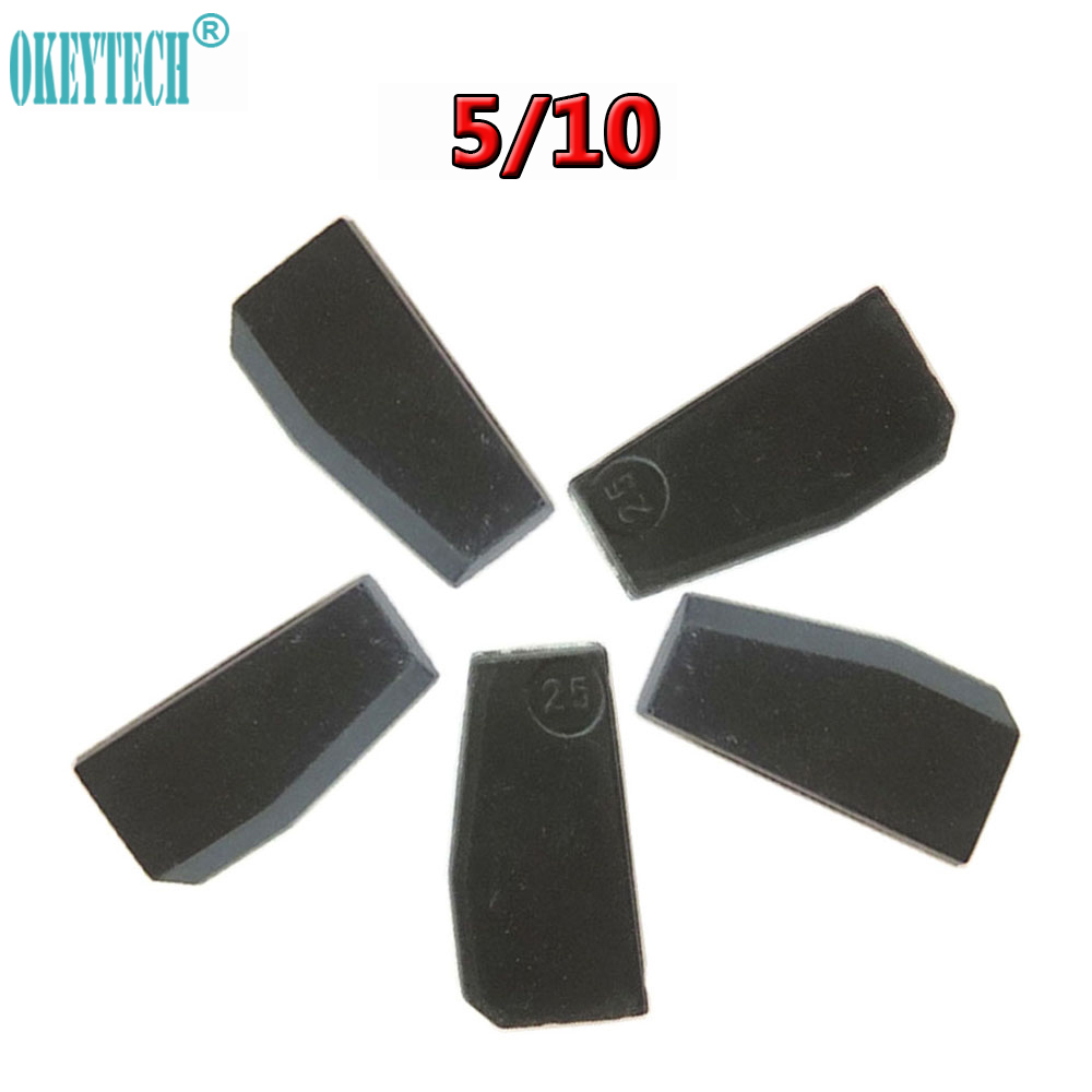 OkeyTech 5/10PCS OEM ID83 4D63 80bits Chip for Ford For Mazda ID4D63 Carbon Car Key Chip 4D63 High Quality Auto Transponder Chip 10pcs lot high quality car key chip transponder h 8a chip 128 bit for toyota rav4 camry