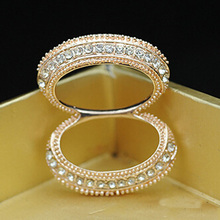 Luxurious Korean Snout Crystal Jewelry for Women