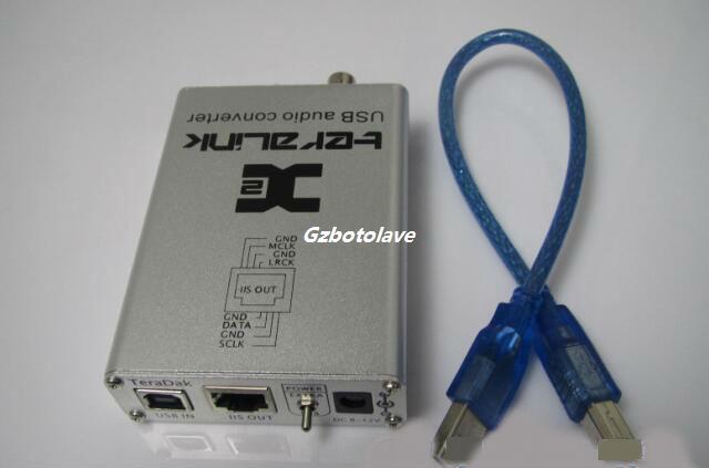 US $94 05 5% OFF| TeraLink X2 USB coaxial BNC fiber SPDIF 24Bit/96KHz USB  driver has written to local hardware XP, vista, win7, for MAC-in Amplifier
