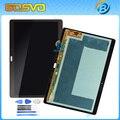 1 Peça 100% testado Display LCD tablet tela de toque digitador assembléia para samsung para galaxy tab s 10.5 t800 t805 frete grátis