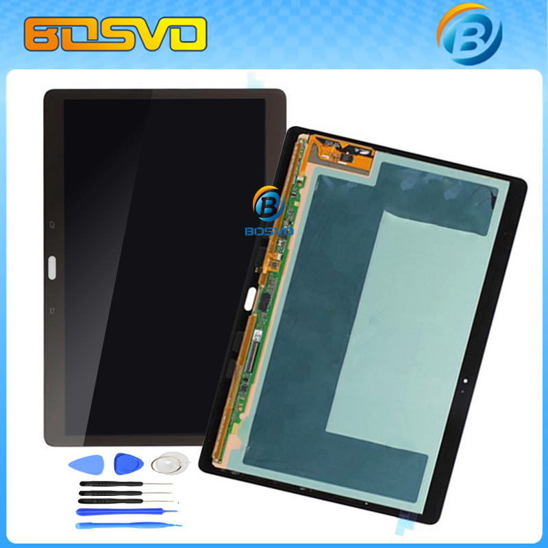 1 Piece 100% tested LCD Display tablet touch screen digitizer assembly for Samsung for Galaxy Tab S 10.5 T800 T805 Free shipping