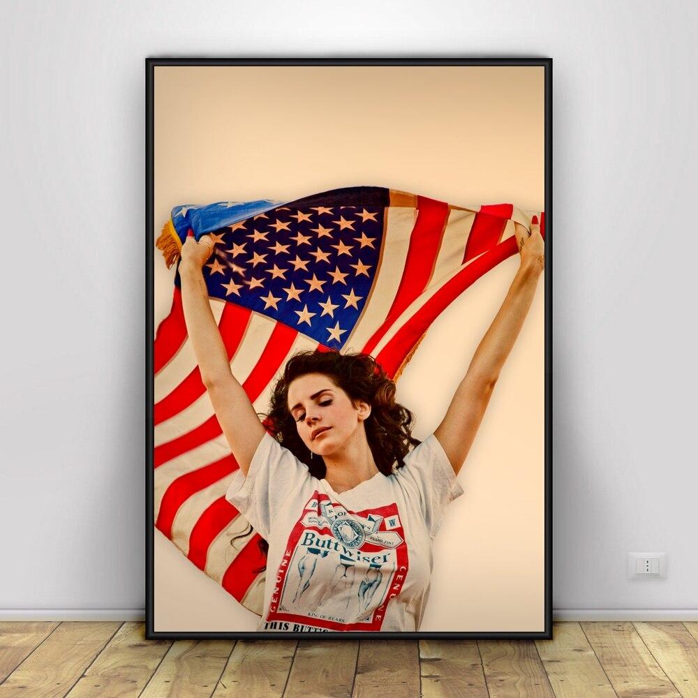 Art Lana Del Rey Art Silk Poster 12x18 24x36 Art Posters