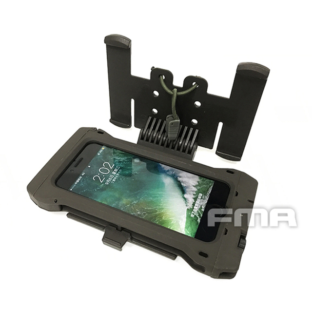 size 40 2c859 43d17 New FMA Iphone 7 mobile pouch for Molle TB1263 Outdoor Tactical Hunting  Vest Style Mobile Phone Case Free Shipping-in Helmets from Sports & ...
